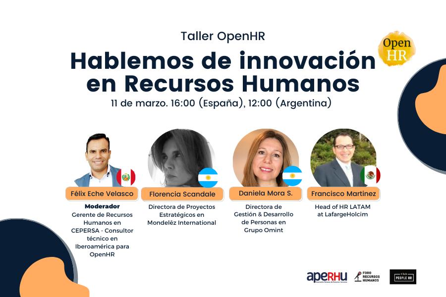 Taller hablemos de innovación en RRHH V3