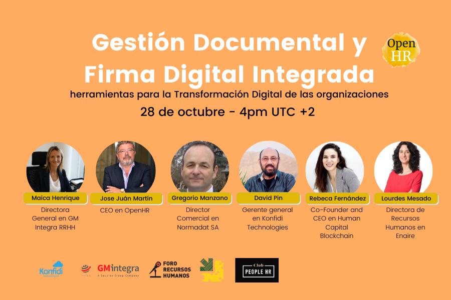 Gestión documental y firma digital integrada: herramientas para la transformación digital de las organizaciones